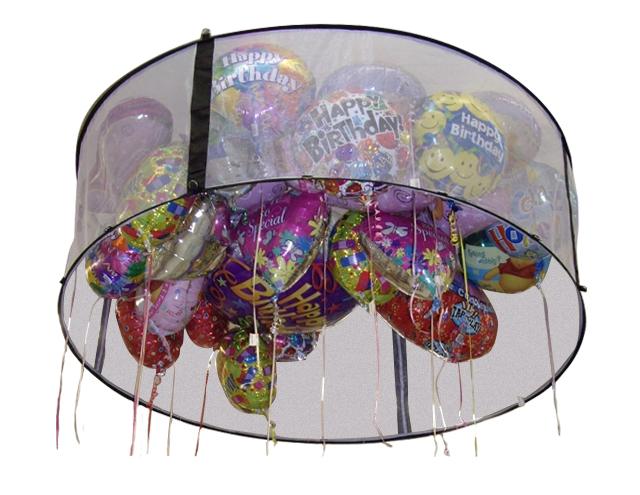 Zephyr Helium 6-Foot Round Balloon Corral