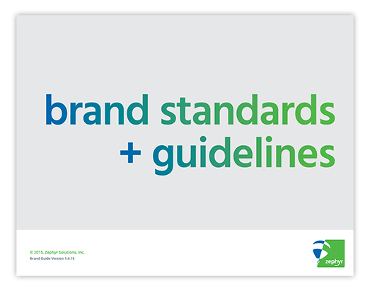 Zephyr Brand Standards Guide