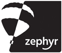 zephyr primary logo black print