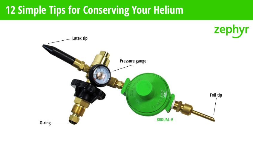 how to conserve helium 12 tips Zephyr Solutions
