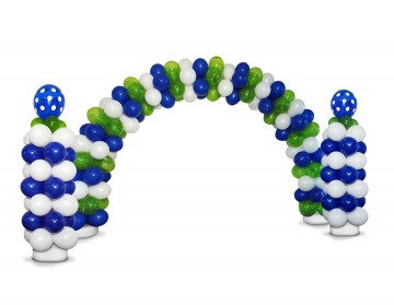Zephyr Deluxe Latex Balloon Arch and Column Kit