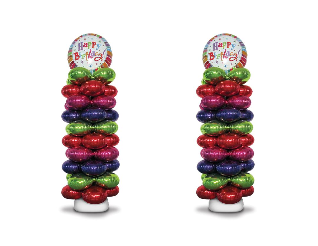 Zephyr Foil Balloon Column Kit