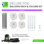 Zephyr Solutions Deluxe Foil Arch & Column Kit