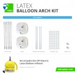 Zephyr Solutions Latex Balloon Arch Kit