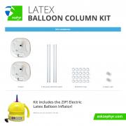 Zephyr Solutions Latex Balloon Column Kit