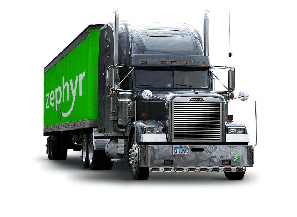 Wholesale propane supplier Zephyr Solutions