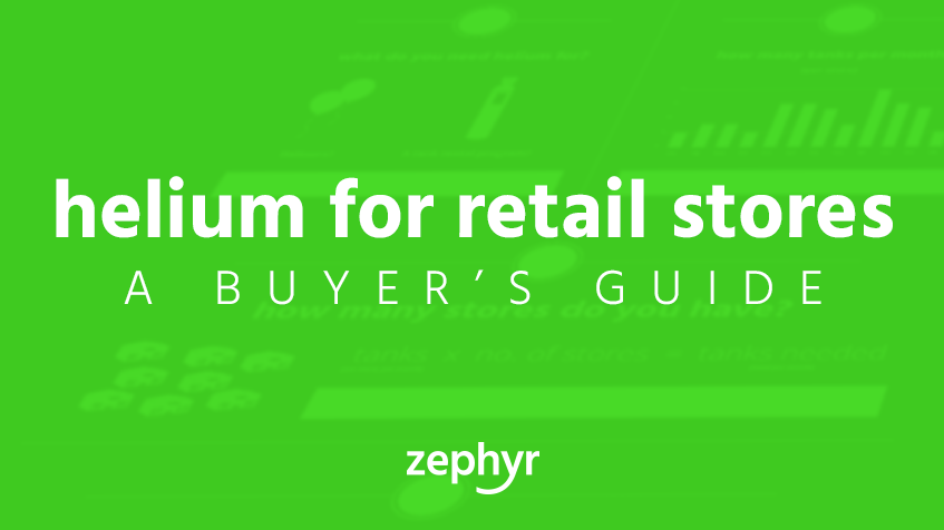 helium for retail stores buyers guide