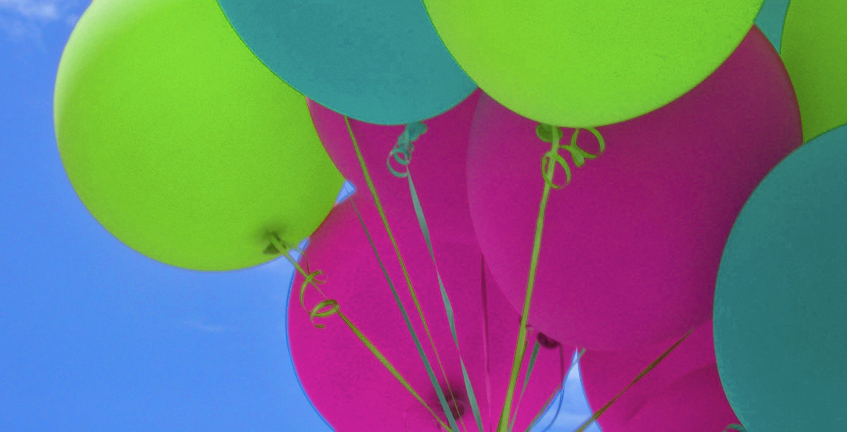 New Valve Invention Latex Balloons Conserves 30 Percent of Helium