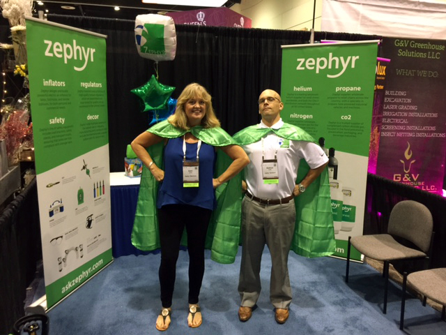 Zephyr at the PMA Fresh Summit Orlando Florida