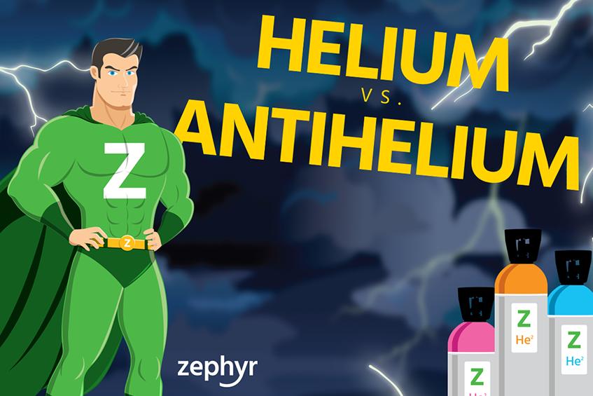 Antihelium discovery