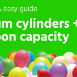 Helium cylinders & balloon capacity: A quick & easy guide