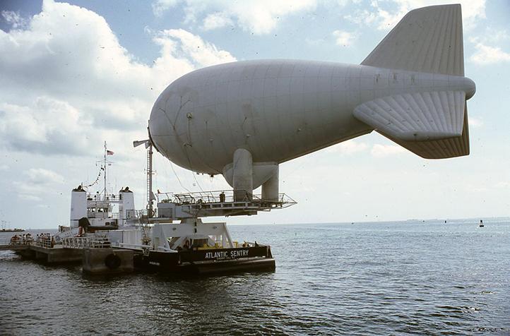 Helium aerostats patrol American borders