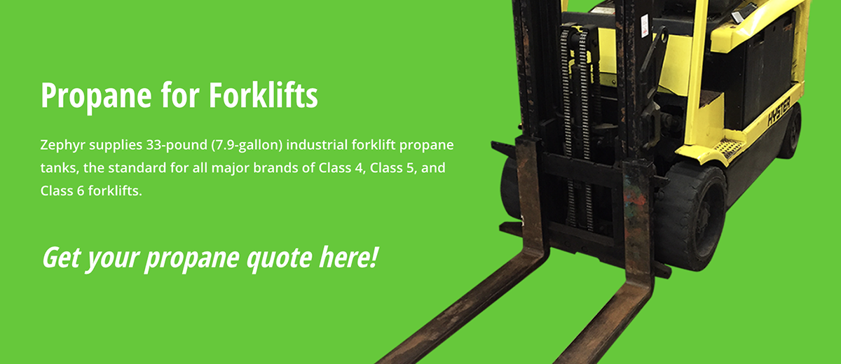 Propane for Forklifts Get a Quote