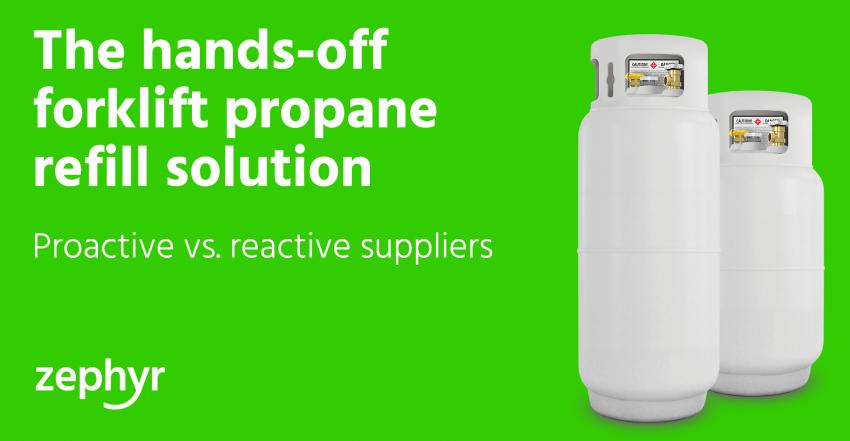 forklift propane refill