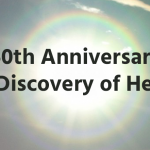 150th anniversary of the discovery of helium