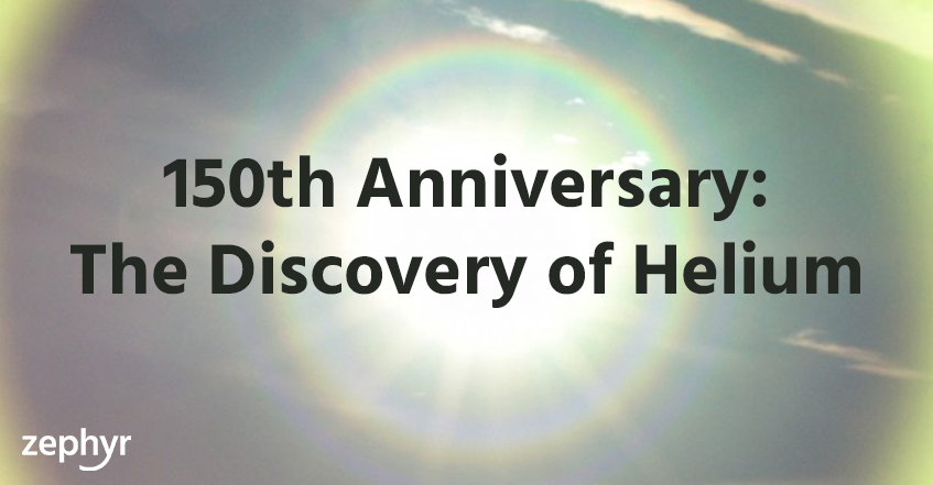 Discovery of Helium - 150th Anniversary