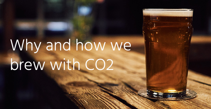 How and why we brew with CO2 | wholesale carbon dioxide gas