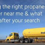Finding the right propane supplier near me