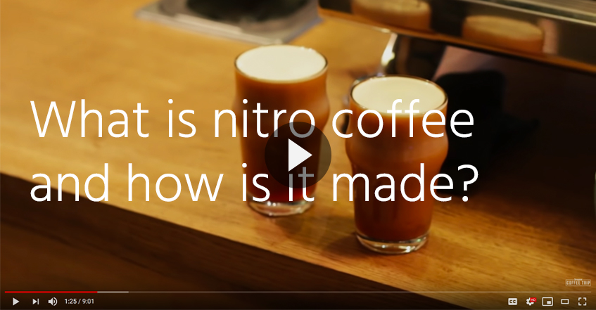 what is nitro coffee how is nitro coffee made